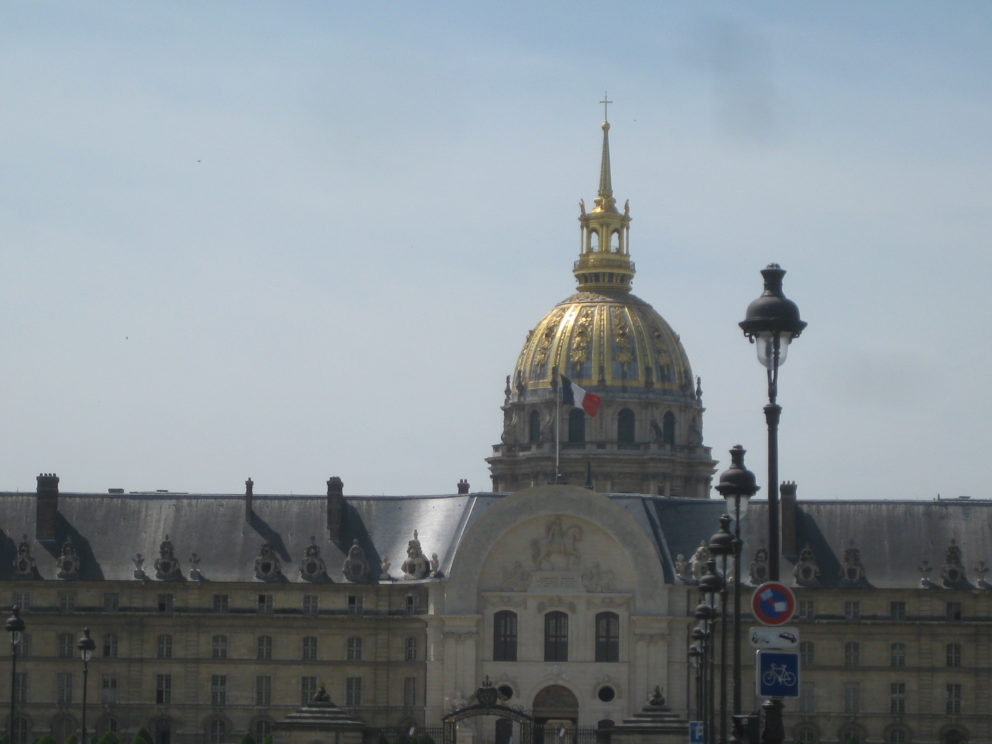 Hôtel National des Invalides - Avant Corps central