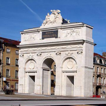 NANCY – Restauration de la porte de Désilles (Mémorial Désilles)